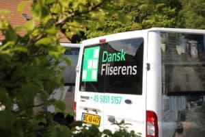 Dansk Fliserens bil